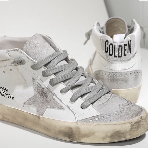 21f0496b2 Golden Goose Shoes - Golden Goose Mid Star Sneakers